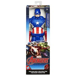 Marvel Titan Hero Series Captain America Figure