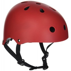 SFR Unisex adult Essentials Helmet, Red (Red), S/M 53