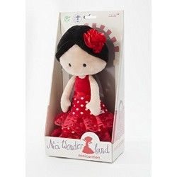 NICI 38927 30 cm Flamenco Doll Minicarmen Dangling Plush Toy