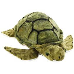National Geographics MARINE TURTLE Stuffed Animals Plush Toy (Medium, Natural)