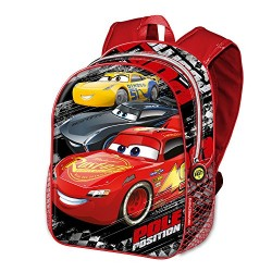Cars 3 Pole Children's Backpack, 40 cm, Black (Negro)