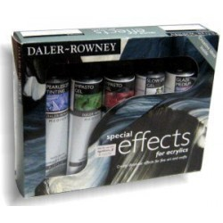 Daler Rowney Acrylic Special Effects Set
