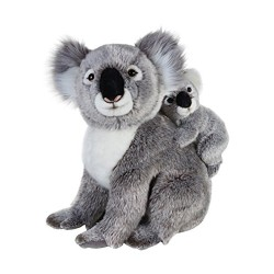 National Geographics KOALA Stuffed Animals Mother with Baby Plush Toy (2
