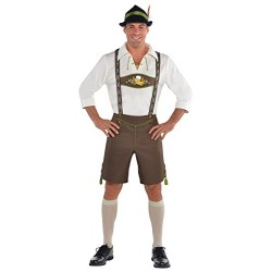 Amscan Adults Mr. Oktoberfest Men Costume, XXL