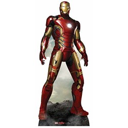 Star Cutouts SC802 Iron Man Cardboard Cut Out