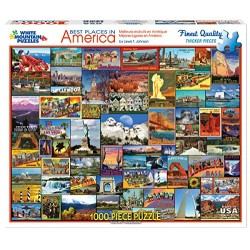White Mountain Puzzles Chipboard Jigsaw 1000 Pieces 24
