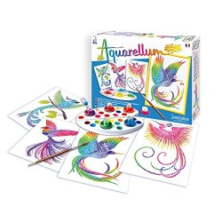 Sentosphère 3900060 Aquarellum Junior Birds Of Paradise Painting Set
