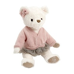 Mamas and Papas My First Bear Soft Toy (Pink)