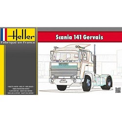 Heller 80773 Model Kit, Scania 141 Gervais