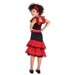 Spanish Beauty Girls Fancy Dress Fiesta Senorita Costume