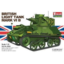 Vulcan Scale Models 56008 Model Kit British Light Tank Mk. VI B
