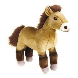 National Geographics HORSE PRZEWALSKI Stuffed Animals Plush Toy (Natural)