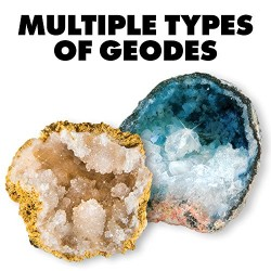 World's Best Geode Kit – Crack Open 15 Rocks and Find Crystals!