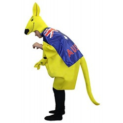 I Love Fancy Dress ILFD4011 Unisex Kangaroo Costume (One Size)