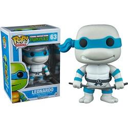 Funko 10077– Ninja Turtles Figure, Leonardo Greyscale Variant