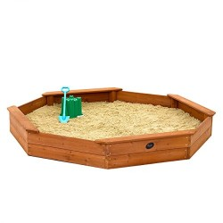 Plum Giant Octagonal Outdoor Play Wooden Sand Pit