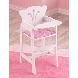 KidKraft Doll Furniture wooden Lil' Doll High Chair