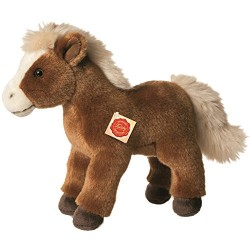 Hermann Teddy Collection 902461 25 cm Brown Horse Standing Plush Toy