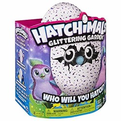 Hatchimals 6037399 Glittering Garden Penguala Playset