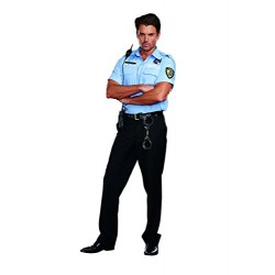 Dreamgirl 9947 Prison Guard Hugh B Guilty Costume (Large)