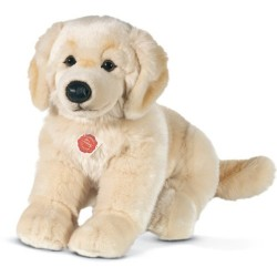 Hermann Teddy Collection 927464 30 cm Golden Retriever Sitting Plush Toy