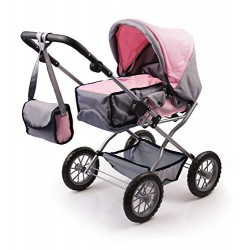 Bayer Design 1500815 Dolls Pram Combi Grande Set with Accessories