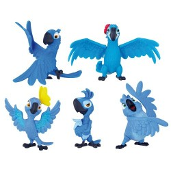 Rio 2 – Jp72499 – Furniture and Decoration – Pack of 5 Figurines
