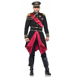 Leg Avenue Military General Costume (M/ L, Black)