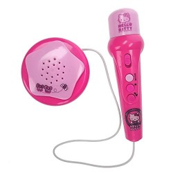 Reig Hello Kitty Hand Microphone with Amplified Speaker