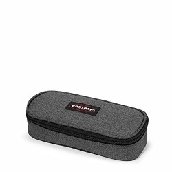 Eastpak Oval Single Pencil Case, 5 x 22 x 9 cm, Black Denim