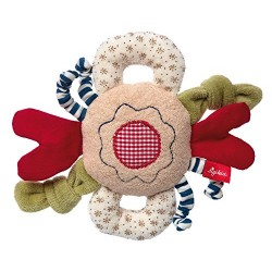 sigikid Organic Activity Flower Grasp Toy