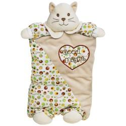 Lelly 37 cm Zerotre Color Pyjama Case Set (Brown)