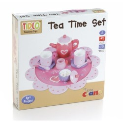 Wooden Teatime Set (Pink)