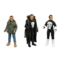 Marvel Comics DEC162577 Punisher Retro Action Figure Set, 8