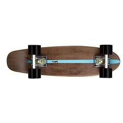 Ridge Maple Mini Cruiser Dark Dye NR2 Skateboard, 22