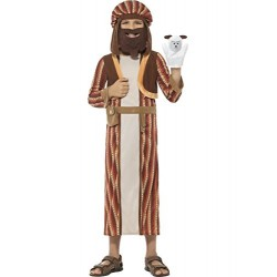 Smiffy's 48206S Nativity Shepherd Costume with Robe (Small)