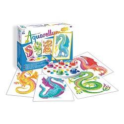 Sentosphère 3900693 Aquarellum Junior Dragons Painting Set