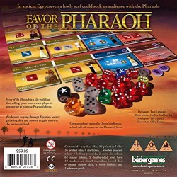 Bezier Games BEZ00016 Favor of The Pharaoh Card Game