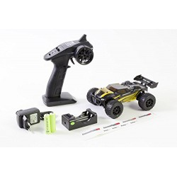 XciteRC Truggy twenty4 TR 30609000 – V2.0 – 4WD RTR model car – black/yellow