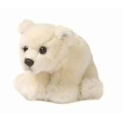WWF 15187001 Polar Bear Plush Toy 15 cm