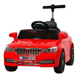 Ricco XMX826 Red 2 Motors Kids MP3 Plus USB Player/Powered Wheels Ride