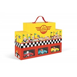 Janod F1 Story Grand Prix Carrying Case