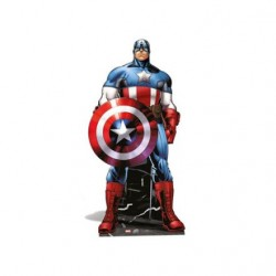 Star Cutouts SC907 Captain America Star Mini Cardboard Cut Out