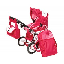 Knorr Toys Knorr63102 Combi Ruby Fox Dolls Pram and Buggy