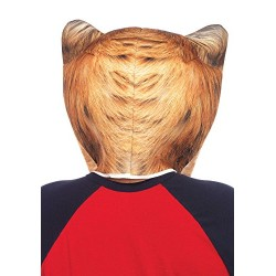 Leg Avenue 2151 Foam Angry Cat Mask Men's Fancy Dress Costume (One Size)