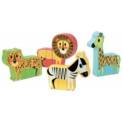 Vilac Vilac7703 Magnetic Savannah Animals Set
