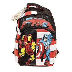 Marvel Comics Children's Backpack, black (Black)