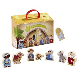 HABA 7657 My First Nativity Playset