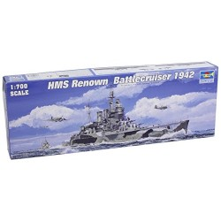 Trumpeter 1/700 HMS Renown British Battle Cruiser 1942 Model Kit