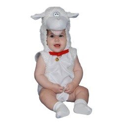 Dress Up America Cute Little Baby Lamb Costume